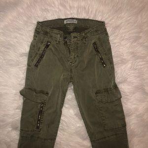 Zara Military Style Jeans